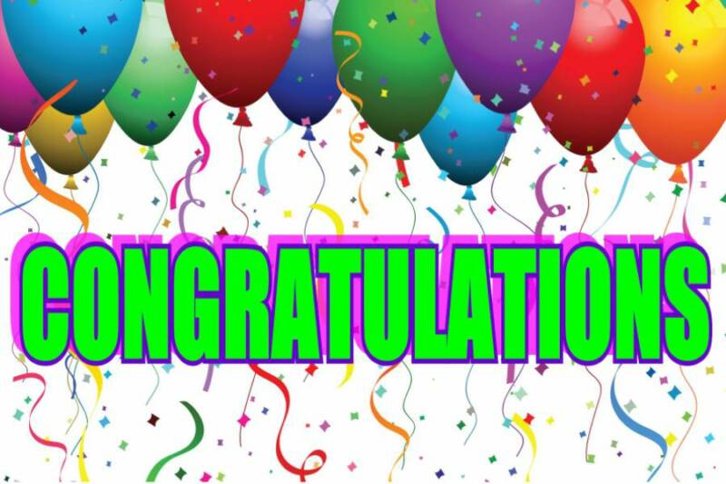 congratulations sign